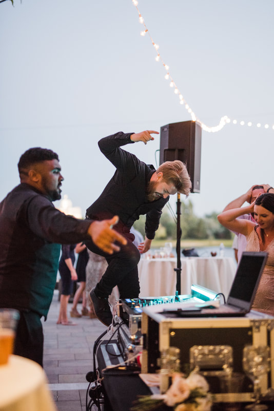 Calvin and Corden Sound Wave Events DJ Lighting Photo Booth Dance Floors