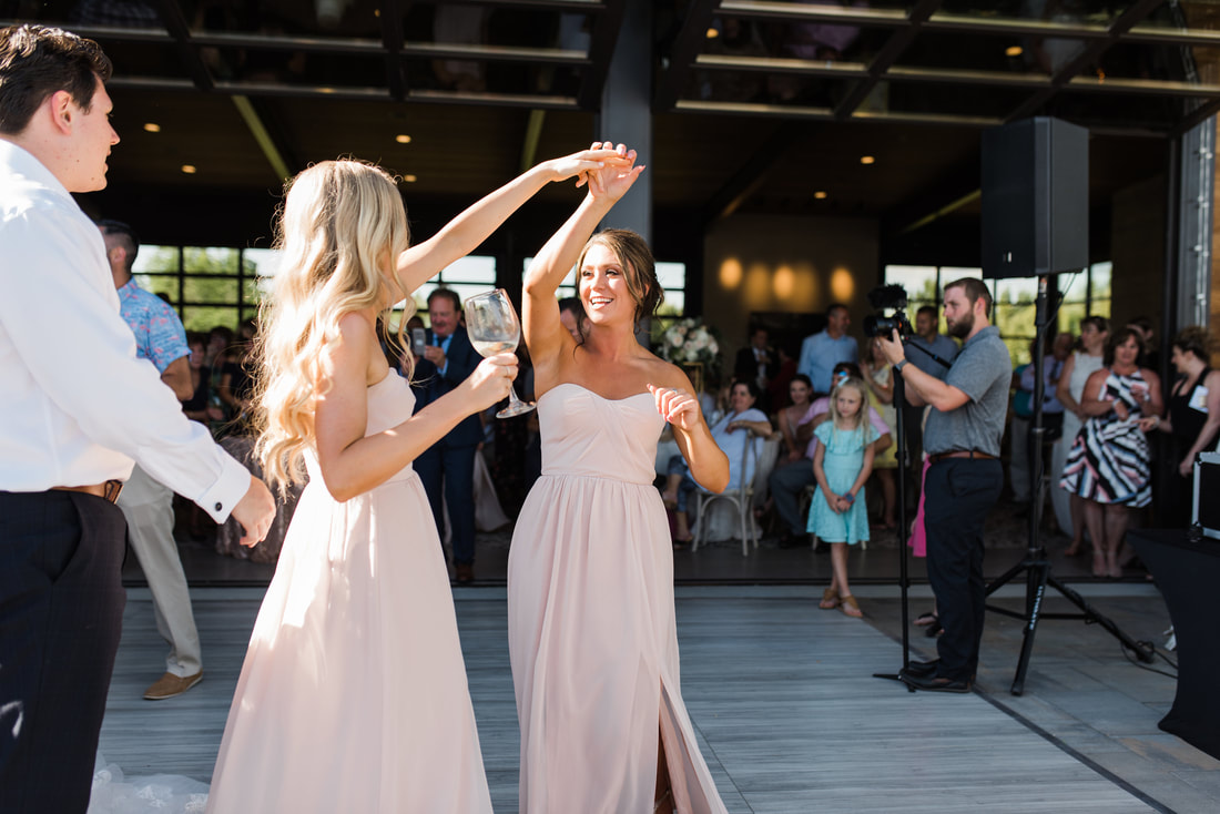 White Washed Pine Dance Floor in Mccall Idaho Sound Wave Events