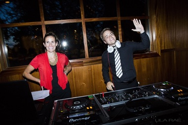 Helen and Myles Sound Wave Events DJ Lighting Photo Booth Dance Floors