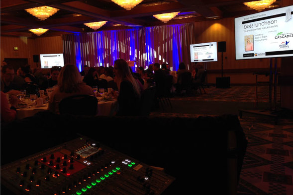 Full Audio Visual Production Mccall Idaho Sound Wave Events