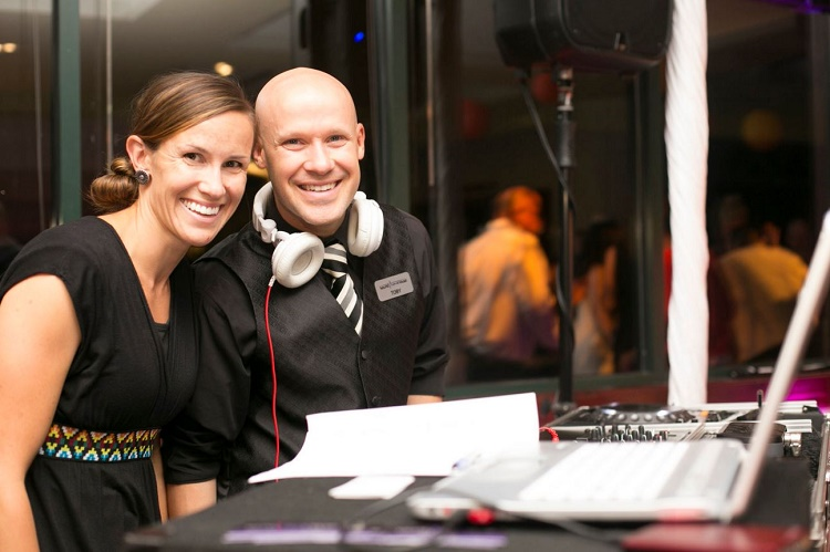 Helen and Toby Sound Wave Events DJ Lighting Photo Booth Dance Floors